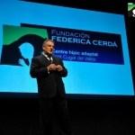 Federico González Cerdá, Presidente de la Fundación Federica Cerdá, durante su discurso inaugural, 24 de octubre de 2011.