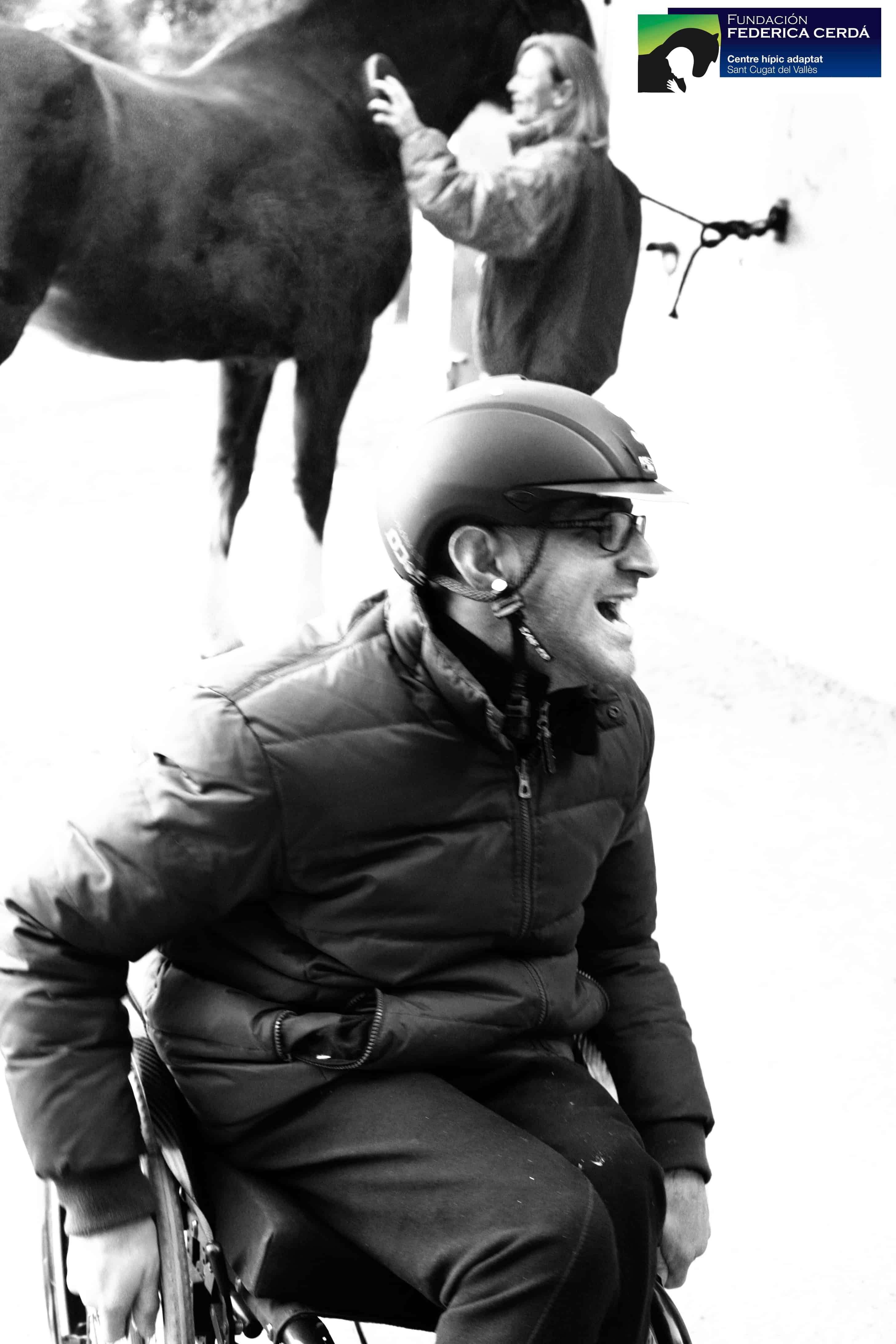Hipoterapia, terapias a caballo, Fundación Federica Cerdá