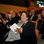 La Sra. Federica Cerdá, durante la inauguración de la Fundación que lleva su nombre.