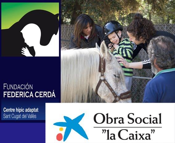Obra Social ''La Caixa'' apoya a la Fundación Federica Cerdá